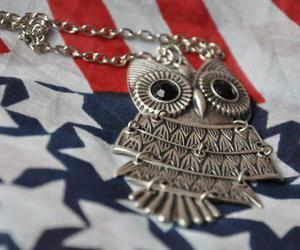 cool, owl, and america image