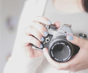 photography, camera, and nails image