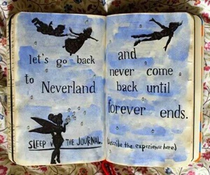 wreck this journal, disney, and neverland image