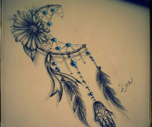 hamsa tattoo dreamcatcher image