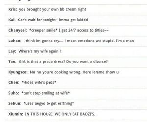 exo and funny image