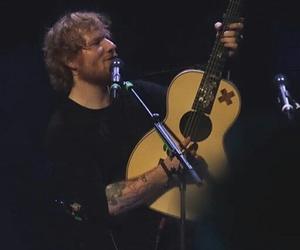 guitar, ed sheeran, and sheerios image
