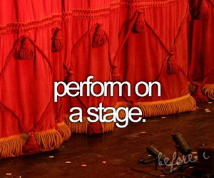 before i die and stage image