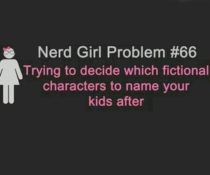 nerd, book, and fictional characters image
