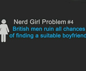british, boyfriend, and nerd image