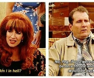 funny, married with children, and Devil image