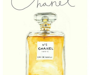 chanel, perfume, and art image