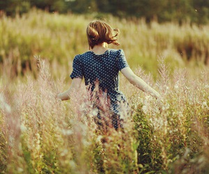 girl, vintage, and beautiful image