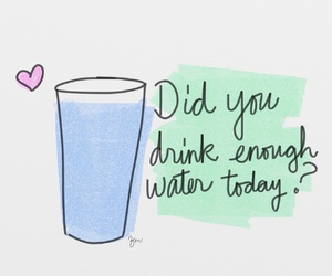 water, motivation, and healthy image