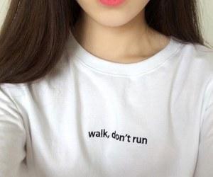 walk, white, and grunge image