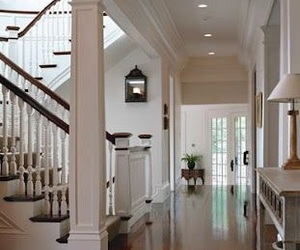 decor, design, and foyer image