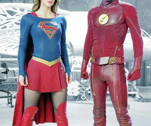 melissa benoist and grant gustin image