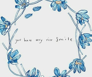 flowers and smile image
