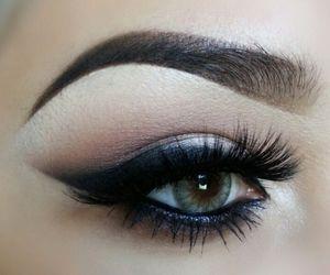 beautiful, eyebrow, and eyelashes image