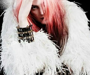 alison mosshart, band, and colorful hair image