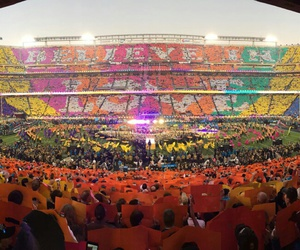 coldplay, colorful, and superbowl image