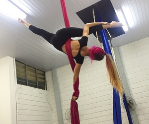 aerial, circus, and flexible image