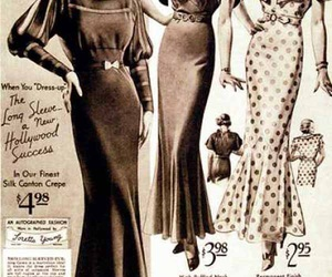 1930, girls, and style image