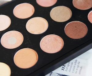 beauty, beige, and eyeshadow image