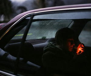car, cigarette, and random image