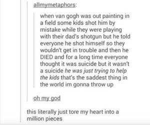 kids, van gogh, and textpost image
