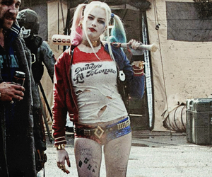 harley quinn, suicide squad, and margot robbie. image