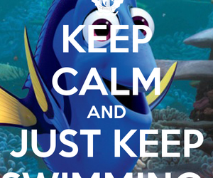 dory, finding nemo, and swimming image