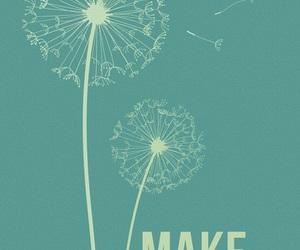 make, wish, and a image