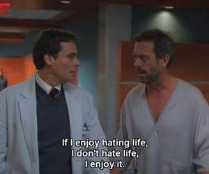 house md, dr house, and funny image