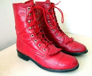 cowboy boots, etsy, and punk rocker image