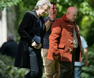 behind the scenes, doctor who, and filming image