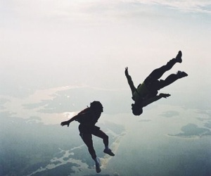 jump, sky, and bestie image