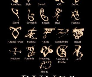 runes, the mortal instruments, and shadowhunters image