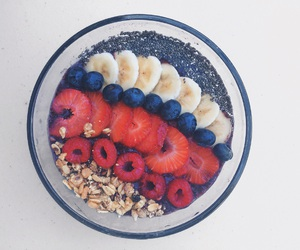 breakfast, healthy, and smoothie image