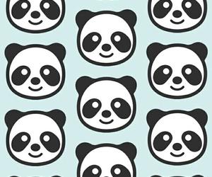 panda and pattern image