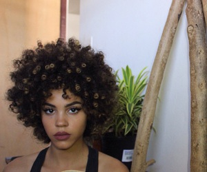 curly, beauty, and curls image