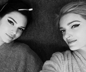 kendall jenner and Lily Donaldson image