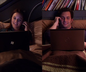 gossip girl, blair waldorf, and couple image