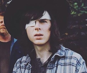 carl, twd, and the walking dead image
