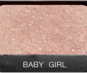pink, baby girl, and makeup image