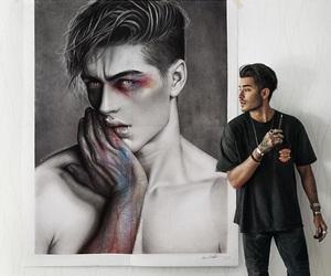 art, boy, and toni mahfud image