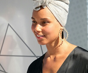 alicia, alicia keys, and beauty image