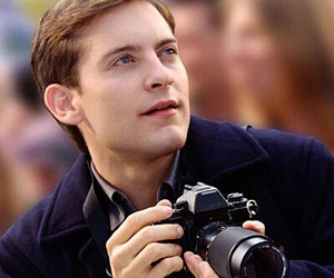 spiderman and Tobey Maguire image