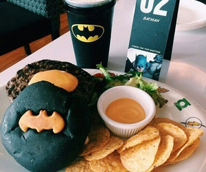batman, food, and yummy image