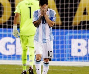 argentina, missed, and messi image