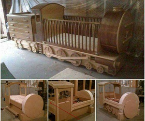 diy and train bed image