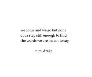 quote, words, and rm drake image