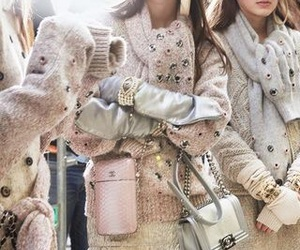 chanel, model, and pink image