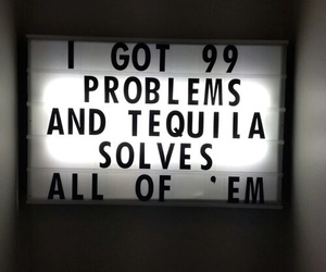 drunk, problems, and tequila image