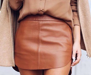 coat, neutral, and tan image